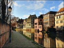 Страсбург / исторический район Petite France