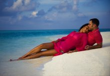 на Мальдивах / свадебная фотосессия
