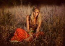 Хиппи / photo: Boris Bushmin make-up: Angelina Sokolova style: Yuliya Didichenko model: Irina Ponomareva,