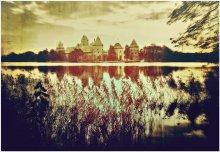 Тракайский замок. История моего края. / Тракайский замок. Озеро Гальве. Литва.