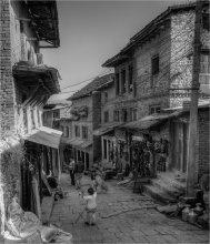 старые улочки / непал катманду
