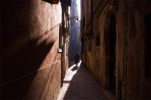 Venice / Солнце встаёт осторожно. Освещая каждую улочку по очереди. Венеция. 09.35. Шёл после утренней съёмки домой выпить кофе с сыром.