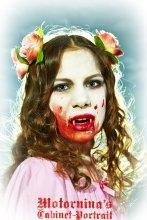 лиза / фотосессия - подарок крёстной дочери