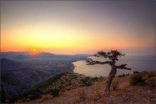 Навстречу солнцу / Вид с горы Сокол на Судак. Рассвет