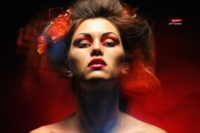 «любовница дьявола» / смешанный свет © Андрей Ермолович make-up ZayaAvdeeva прическа Katja Talkovskaja модель ZayaAvdeeva Студия:neigrushki