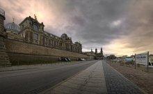 Зимний Дрезден / Таким был первый взгляд на этот город