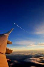 Мне бы в небо.... / Выше гор и облаков, там всегда хорошо, солнечно, красиво и беззаботно....