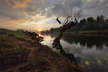 утро на реке / 5.30  утра река Москва