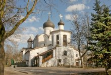 Храм / Церковь Василия на Горке в Пскове - один из храмов 15 века