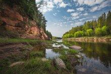 Про весеннюю зелень / Река Гауя