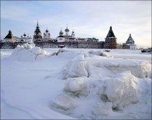 Последие дни зимы. / Архангельская область, Соловецкий монастырь.