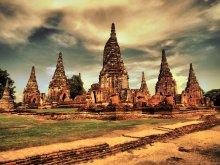 Царские гробницы / останки царских гробниц в Таиланде