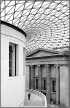 All alone / British museum in London
