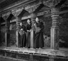 монахи / непал г.Катманду