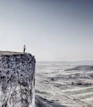 выбор направления / основа для первого самостоятельного полёта есть, дальше каждый решает сам - вниз, вверх или вдоль горизонта. Крым, Белая скала.