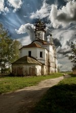 / Церковь во имя святого Леонтия епископа Ростовского. Являлась одной из самых древнейших приходских церквей 1676  года.