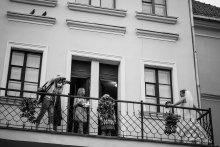"""""""конвеер"""" на """"загсовом"""" балкончике / ожидая очереди на скамеечке..."""