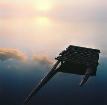 Шаг в Небо / восход на оз.Глубокое