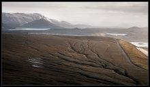 Земля, посыпанная пеплом.... / Вечерняя съемка в районе озер Veidivotn, Исландия.