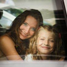 глаза. мама и дочь / перед венчанием