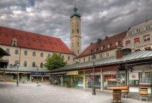 утром на Виктуалиенмаркт / в 6 утра на самом знаменитом рынке Мюнхена тишина и полнейшее безлюдство:)
