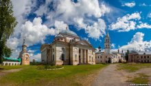 Новоторжский Борисоглебский мужской монастырь / Панорама