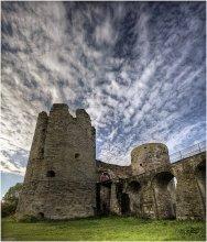 Копорский замок (фрагмент) / Один из видов на главные ворота. Подробно о замке можно прочитать здесь - http://photoclub.by/work.php?id_photo=369745&id_auth_photo=8315