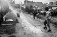 Высшая уличная лига / Куршская коса, пос. Лесной, пацаны, играющие в футбол как раньше. (сейчас всё больше в компе сидят...)
