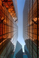 Мagic of colors / Отблески золота в стеклянных джунглях Гонконга..