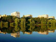 Отражение. / Снимала с рук прогуляиваясь возле водохранилища в Минске.