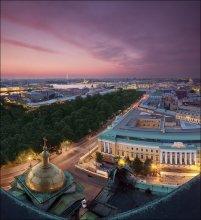 Вечерний Петербург / 2011-07-22 23:46 +26 °C