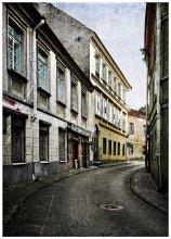 Улочки моего города. / Вильнюс. Старая часть города. ул. Бокшто.