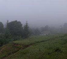 Тумана нежная вуаль 2... / Фото выполнено в рамках фототура по Карпатам...