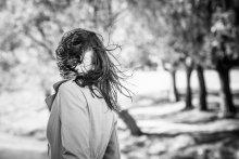 ветер. волосы. девушка / no comments