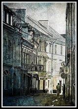 Улочки моего города / Вильнюс. Старая часть города. Улица Св. Игнота.