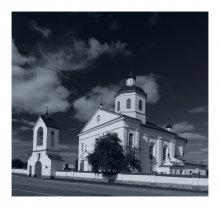 Раков. Спасо-Преображенская церковь / д.Раков, Воложинский р-н.  Построена в 1730-93гг