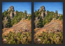 Болгария. Смолян. гора Невяста III (Стерео) / одно из моих любимых мест в горах... теперь и в стерео-формате :)  Смотреть скашивая глазки (кстати, очень полезно для зрения)...  Тем, кто не знаком с перекрестными стереопарами стоит обратиться к замечательной статье на сайте макроклуба http://macroclub.ru/how/stereo