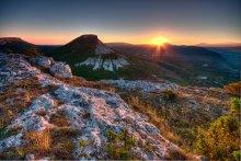 гора Кыз-Кермен / Крым, гора Кыз-Кермен,