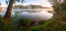 Осеннее дыхание реки / пейзаж