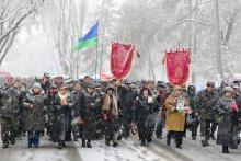 Марш памяти... / Марш памяти погибших воинов - афганцев...
