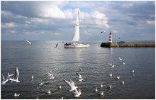Возвращение / Литва. Куршский залив. Осень 2012.
