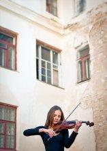 """Скрипка / Классика. Скрипка. Из серии """"Музыка""""  И в трущобах рождаются таланты... Рождается Музыка...."""