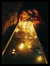 "монастырские свечи / Хайфа. Монастырь кармелитов ""Стелла Марис"""