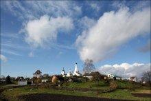 Касаясь небес. / Воротынский монастырь в Калуге.