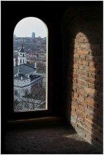 Окно. / Вильнюс. Вид из окна башни Гедиминаса.