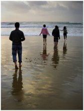 к морю / Тель-авивский пляж