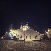     Успенская гора - II     / пано из 2 верт. кадров