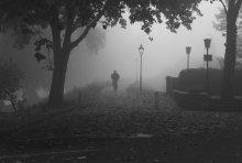 Туман / велосипед