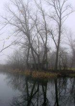 Ноябрь .Туман. Избушка. / ..............