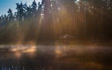 На рыбалочке или про маленькое мужское счастье / Восход. Туман. Карп.